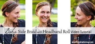 headband roll boho side braid with headband roll tutorial a better way