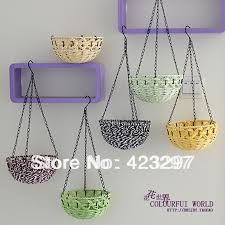 Home Handmade Decoration Basket Bracket Picture More Detailed Picture About Hanging Vase