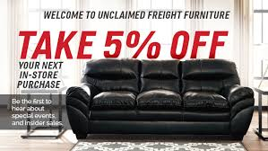 Slumberland Patio Furniture Unclaimed Freight Furniture