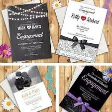 Engagement Party Invites Personalised Engagement Invitations Engagement Party Invites With