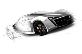 supercar drawing lykan hypersport is the arab world u0027s first supercar costs 3 4