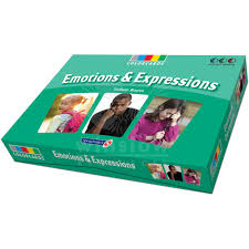 colorcards emotions and expressions 48 cards winslow