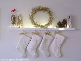 Ways To Decorate A Fireplace Mantel by 8 Festive Ways To Hang Stockings When You Don U0027t Have A Fireplace