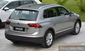 volkswagen tiguan driven volkswagen tiguan reviewed in malaysia striking middle