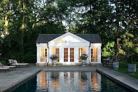 house plans with pool house pool houses to complete your backyard retreat roof pool house