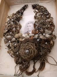 hair wreath maine memory network hair wreath presque isle ca 1860