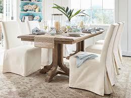 coastal dining room furniture linden coastal dining room pottery barn
