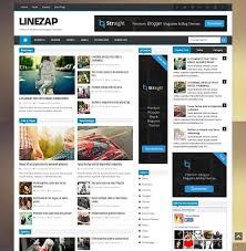 best blog themes ever linezap news blogger template abtemplates com