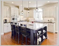 espresso kitchen island with stainless steel top home design ideas