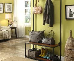 diy entryway shoe bench image of wooden indoor entryway storage
