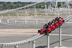 in abu dhabi roller coaster abu dhabi s theme park