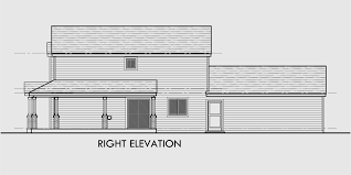 Narrow Lot 4 Bedroom House Plans Two Story House Plans Narrow Lot House Plans Rear Garage House