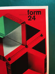 1963 futurism midcentury graphic design magazine form red prints