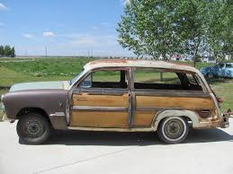 1951 ford meteor country squire custom deluxe 2 door woodie