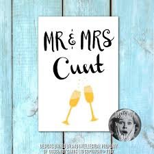 obscene funny wedding and engagement cards by obscenity cards