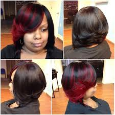 Sew In Bob Hairstyle Full Sewin Bob No Leave Out Shear Rubies Hair Masters
