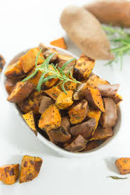 sweet potato thanksgiving side dish rosemary roasted sweet potatoes u2014 tastes lovely