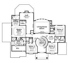 european style home plan 419 235 2nd story luxury house