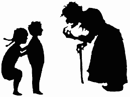 file hansel and gretel and witch silhouettes svg wikimedia commons