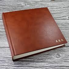 leather picture album leather photo albums handmade photo album bespoke album company