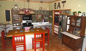 Repurposed Kitchen Cabinets Small Rustic Kitchen Makeover Repurposed Life
