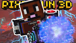 i unlocked a mega weapon pixel gun 3d youtube