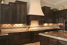 painting kitchen cabinets espresso brown interior design