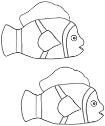 clown fish coloring page good clown fish coloring pages printable