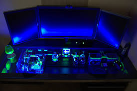Best Pc Gaming Desk by Best Custom Pc Cases This Custom Built Computer Desk Case Will