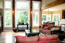 Great Room Rustic Family Room Detroit By Green Apple Design - Great family rooms
