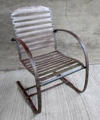 Metal Lawn Chair Vintage by Vintage Metal Patio Chairs Interior Design