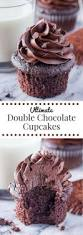 double chocolate cupcakes cake and food recipe the good foods