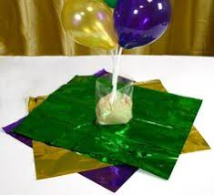 class reunion centerpiece idea air filled balloon centerpieces