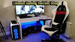 Ultimate Computer Chair Ultimate Youtube Gaming Setup Under 1000 Youtube