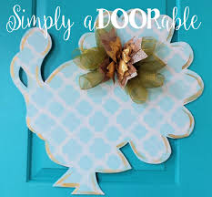 turkey door hanger turkey door hanger by simply adoorable side turkey turkey door