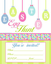 free printable invitations easter invitations template resume builder