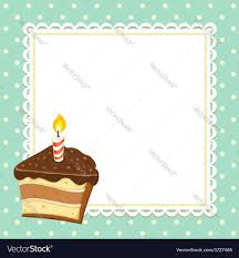 piece of cake royalty free vector image vectorstock
