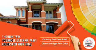 the right way to choose exterior paint colors for your home