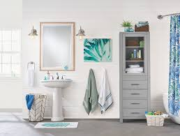 Bed Bath And Beyond Bathroom Accessories How To Do An Affordable Bathroom Makeover Above U0026 Beyondabove