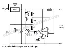12v gelled electrolyte battery charger