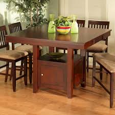 pub table and chairs with storage new classic brendan storage pub table boulevard home furnishings