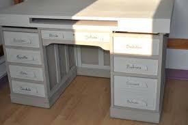 bureau repeint repeindre bureau bois comment peindre un bureau repeindre vieux