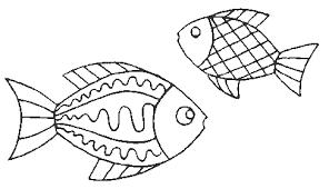 coloriage 1er avril poissons 1 à colorier allofamille
