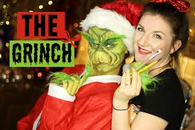 grinch halloween costumes the grinch makeup tutorial 2015 youtube