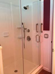custom accessible bathroom remodel in lebanon twp nj