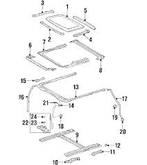 lexus is300 parts diagram parts com lexus is300 sunroof oem parts