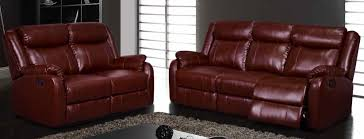 Burgundy Living Room Furniture by Furniture Burgundy Reclining Sofa