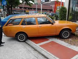 mitsubishi galant modified parked cars manila 1975 mitsubishi galant wagon