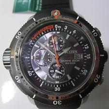 bj2128 05e citizen eco drive mens promaster depth meter chronograph