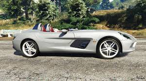 mercedes mclaren mercedes benz slr mclaren 2009 for gta 5